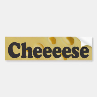 Cheeeese - Bumper Sticker
