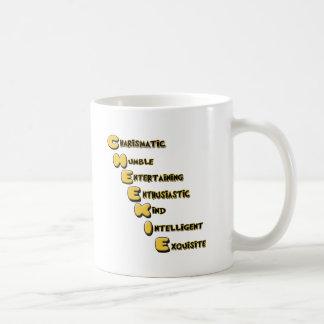 cheekie m coffee mug