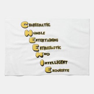 cheekie m kitchen towel
