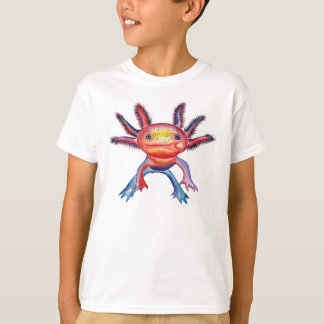 Cheeky Axolotl design T-shirt