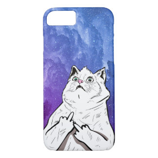 cheeky Bad Cat Case-Mate iPhone Case