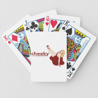 Cheeky Bicycle Cards