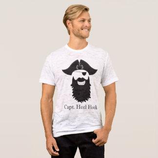 Cheeky Captain Heel Hook BurnOut T-Shirt