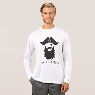 Cheeky Captain Heel Hook Long Sleeve Sport T-Shirt