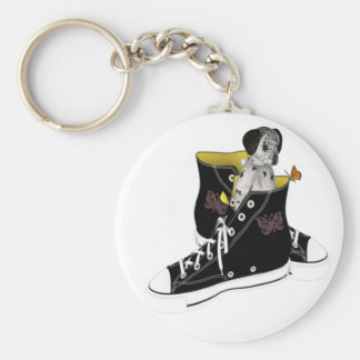 Cheeky Chappie Basic Round Button Keychain