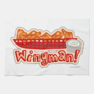 Cheeky Chicken Wing Wingman Kitchen Towel