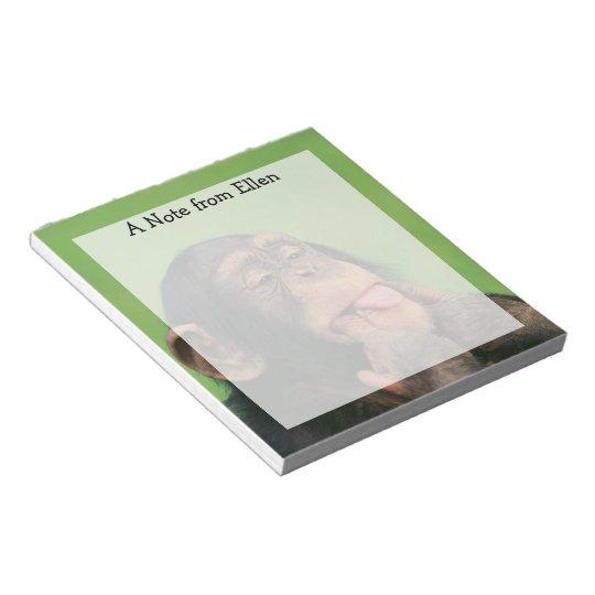 Cheeky Chimp Notepad