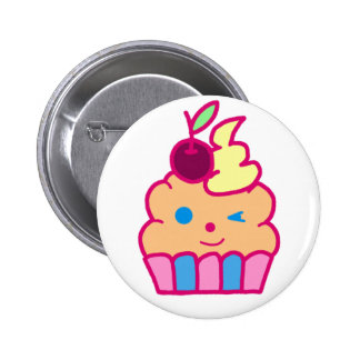 Cheeky Cupcake 2 Inch Round Button