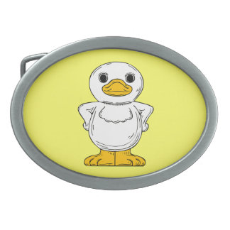 Cheeky Duck Belt Buckle