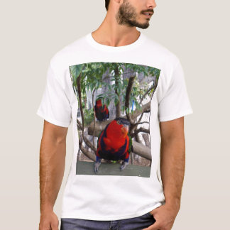 Cheeky Face Rainbow Lorikeet, T-Shirt