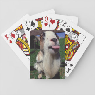 Cheeky Goat Playing Cards
