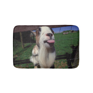 Cheeky Goat small bathmat
