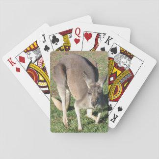 Cheeky Kangaroo - Standard Playing Cards