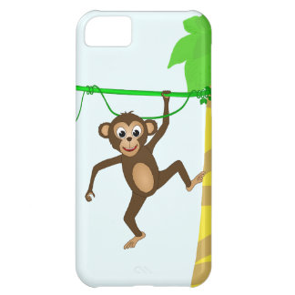 Cheeky Little Monkey Cute Cartoon Animal Case-Mate iPhone Case