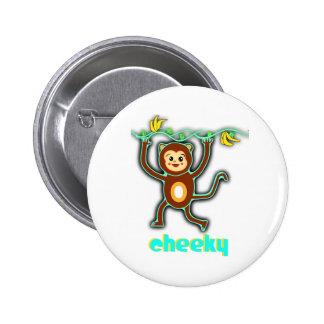 cheeky monkey button