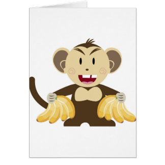 Cheeky Monkey Collection Card