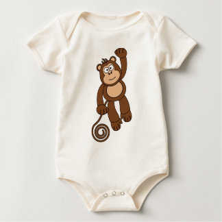 Cheeky Monkey Design Baby Bodysuit