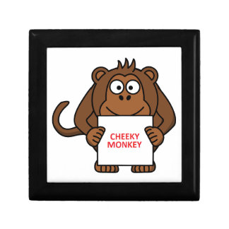 Cheeky Monkey Jewelry Box