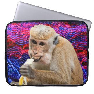 Cheeky monkey laptop sleeve