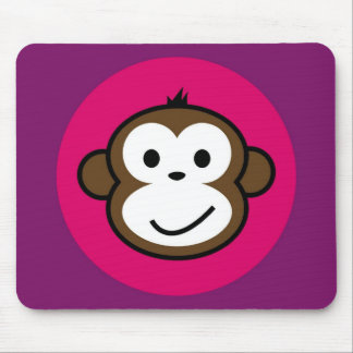 Cheeky Monkey Mouse Pad