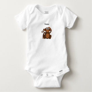 Cheeky Monkey Personalized Baby Onesie