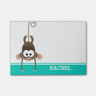 Cheeky Monkey Personalized Post-it® Notes
