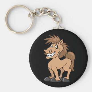 Cheeky pony key ring
