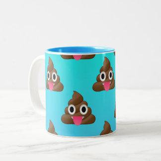 Cheeky Poopy Emoji Mug