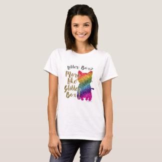 Cheeky Rainbow Cat Saying T-Shirt