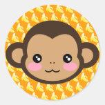 Cheeky Saru Stickers