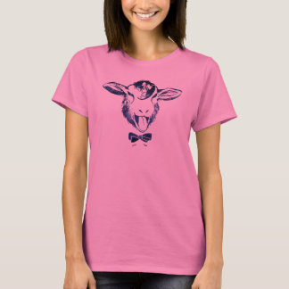 Cheeky sheep with a bow tie T-Shirt