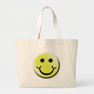 Cheeky Smile Large Tote Bag