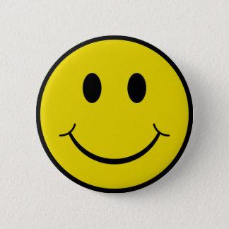 Cheeky Smiley 2 Inch Round Button