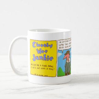 Cheeky Wee Junkie - Comic Strip Mug
