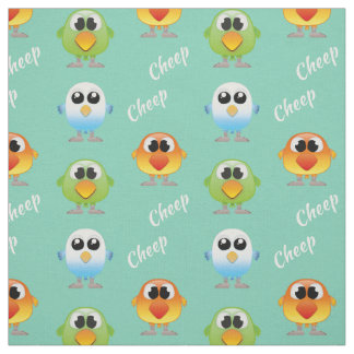 Cheep Cheep Birds for little kids Fabric