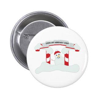 Cheer Ahead Pinback Button