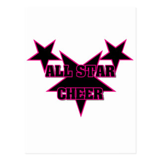 Cheer Allstar Postcard
