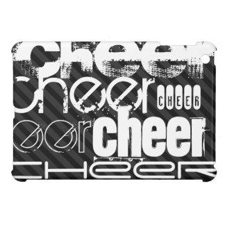 Cheer; Black & Dark Gray Stripes Case For The iPad Mini