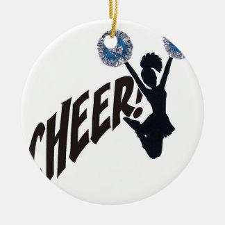Cheer Ceramic Ornament
