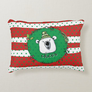 Cheer Christmas Accent Pillow