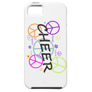 Cheer Colored Peace Signs iPhone 5 Covers