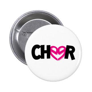 Cheer CuteE's 2 Inch Round Button