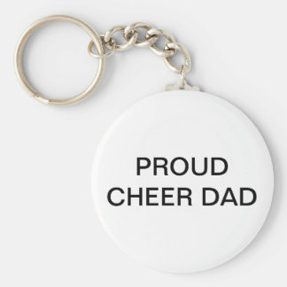 Cheer Dad Key Chain