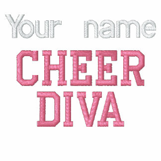 Cheer Diva Embroidered Shirt