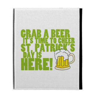 Cheer for St. Patrick's Day iPad Case