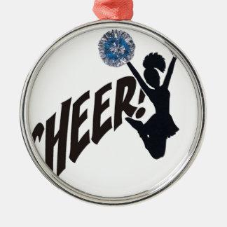 Cheer Metal Ornament