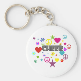 Cheer Mixed Graphics Keychain