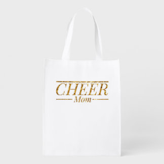 Cheer Mom Grocery Bag