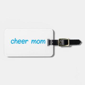 Cheer Mom Luggage Tag