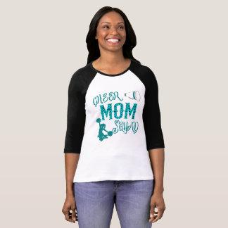 Cheer Mom Squad Gift Stepmom Cheerleading T-shirt